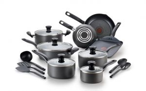 T-fal Initiatives Nonstick 18-Piece Cookware Set