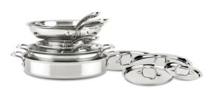 10-Piece Cookware Set / D3 Stainless Compact - Second Quality