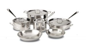 10-Piece Cookware Set / Stainless - Packaging Damage