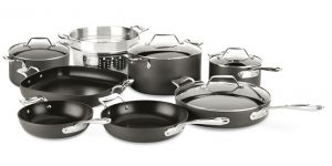 12-piece Cookware Set / Essentials Hard Anodized - Packaging Damage