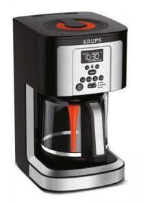KRUPS 14-Cup Programmable Coffee Maker, Stainless Steel