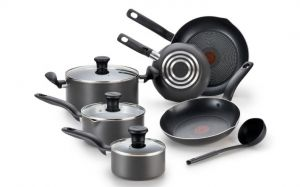 T-fal Initiatives Nonstick 10-Piece Cookware Set