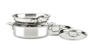 5-Piece Cookware Set / D3 Stainless Compact - Second Quality