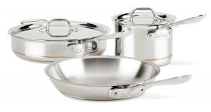 25th Anniversary 5-Piece Cookware Set / Copper Core - Packaging Damage