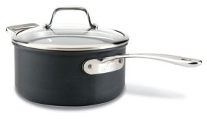 3-Qt. Sauce Pan, Hard Anodized / B1 - Packaging Damage