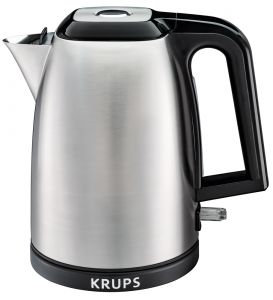KRUPS Savoy Stainless Steel Electric Kettle, 1.7L