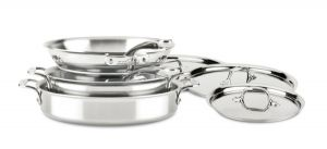 D3 Compact 7-Piece Cookware Set - Second Quality