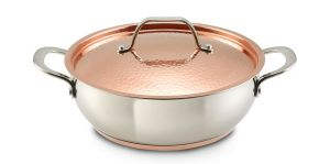 Lagostina Giada Stainless Steel 4 Qt. Covered Dutch Oven