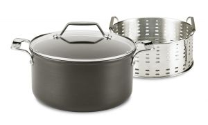 6-Qt. Steam, Poach and Stew Pot / Nonstick / Essentials - Packaging Damage
