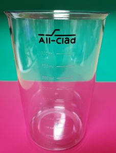 1000 ml heavy gauge plastic beaker