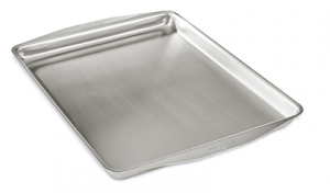 12-In. x 15-In. Jelly Roll Pan / Stainless Steel - Second Quality
