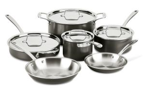 LTD 10-Piece Cookware Set - Second Quality