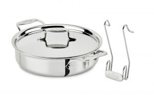 4-Qt. Cook and Serve Pan / SD5 - Second Quality